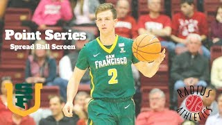 San Francisco Dons - Point Series - Spread Ball Screen