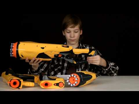 Nerf Dart Tag Follow Up Reviews - Nerf Wear - Swarmfire. Speedswarm. Quick 16. Speedload 6