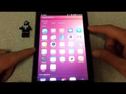Ubuntu Touch **New Update** Nexus 7 2013
