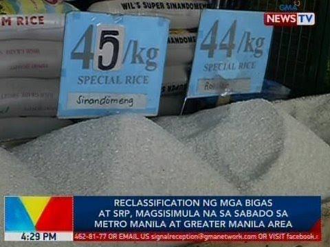 BP: Reclassification ng mga bigas at SRP, magsisimula na sa Sabado thumbnail
