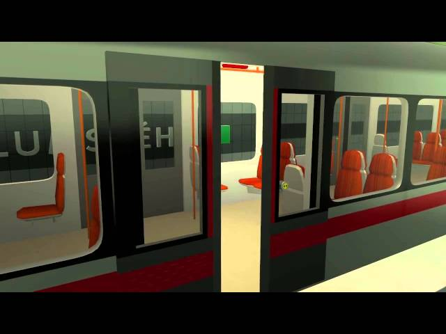 Simulátor Metra - ukázka