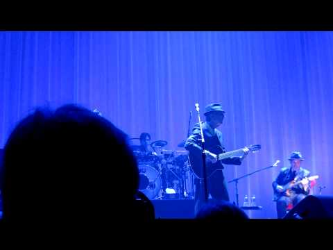 Famous Blue Raincoat - Leonard Cohen - Milwaukee - March 15th 2013