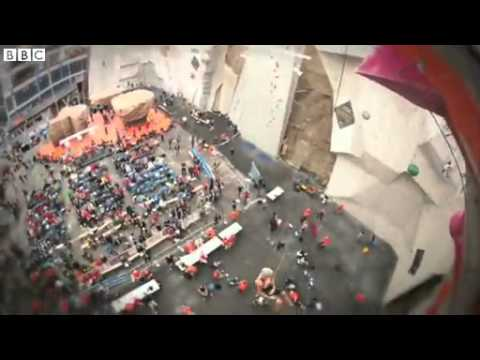 BBC News - UK climbers vie for sport to gain Olympic status