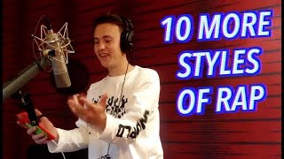 10 More Styles of Rapping! (KENDRICK LAMAR, KANYE WEST & MORE)