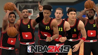 Team Of YouTubers In NBA 2K19! Chris Smoove, Troydan, LSK, Jesser, Cash, Agent, And More!