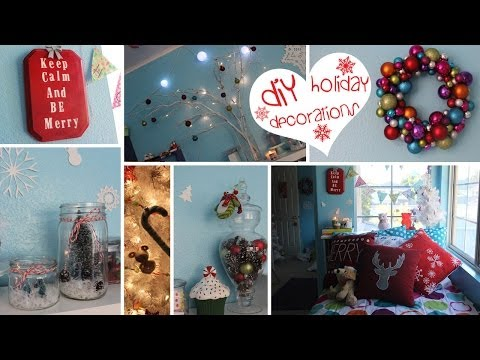 7 Diy Holiday Decorations  Easy, Fun &amp  Affordable      Craftmas