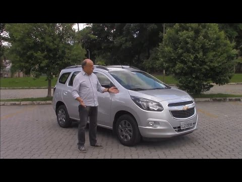 Teste Chevrolet Spin 1.8 Advantage 2017, por Emilio Camanzi