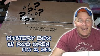 Mystery Box Opening with Rob Oren! - May 22, 2019
