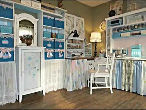 Craft Room Makeover For Under 100 00 With Angela Youtube