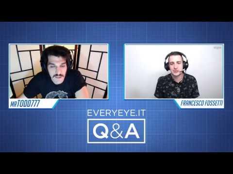 Q&A: Domande e Risposte con Fossa e Todd (19 aprile 2018)