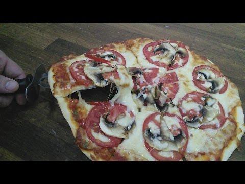 Как приготовить Пиццу!!!Простой и лёгкий рецепт
