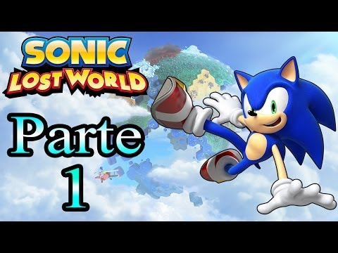 Let's Play : Sonic Lost World - Parte 1