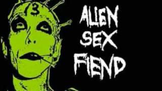 Watch Alien Sex Fiend Here Cum Germs video