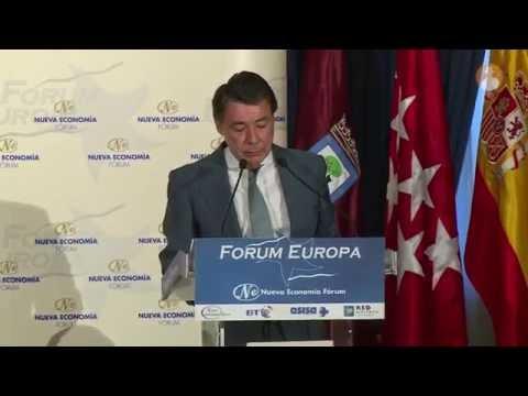 Ignacio González, presidente de la Comunidad de Madrid en Nueva Economía Forum