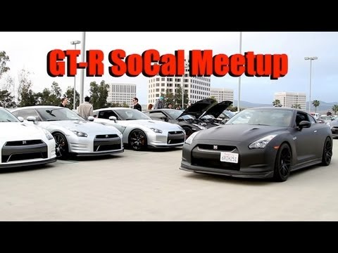 Nissan GT-R SoCal Meetup