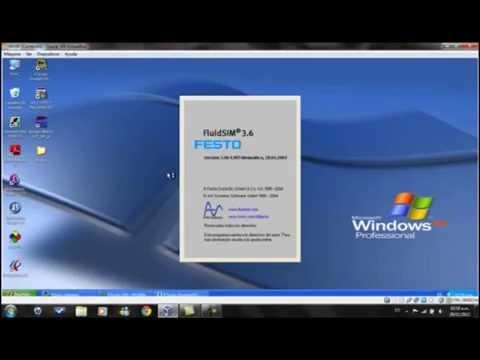 Comunicacion entre RSlogix 500 y FluidSim mediante OPCserver, PLC emulator