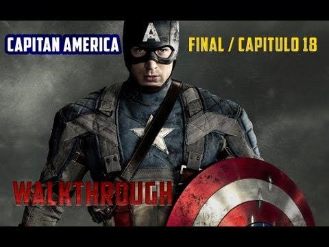 Capitán América Supersoldado : Walkthrough en Español / Capitulo 18 Final