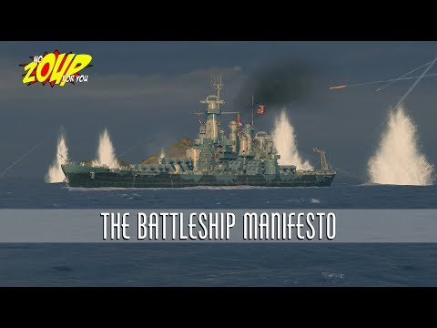 World of Warships Battleship Manifesto