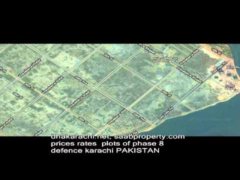 PART 3, PRICES  RATES PLOTS PHASE 8 DHA DEFENCE KARACHI PAKISTAN REALESTATE PROPERTY