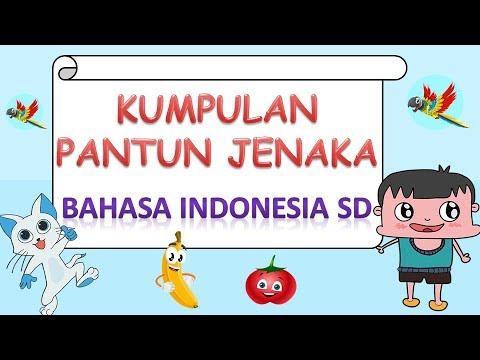 Kumpulan Pantun Jenaka Bahasa Indonesia Sd Youtube