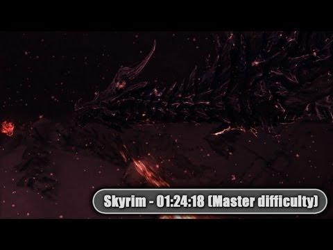 Skyrim: Single-segment speedrun (Master difficulty) 1:24:18