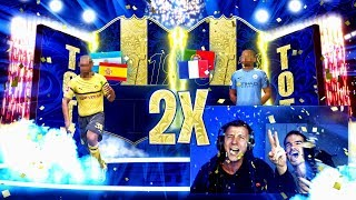 2x TOTY in PACKS !! 😱🔥 BEST OF 2000€ PACK OPENING
