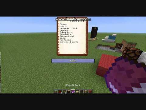 Tutorial Minecraft:creare mobili semplici e carini!