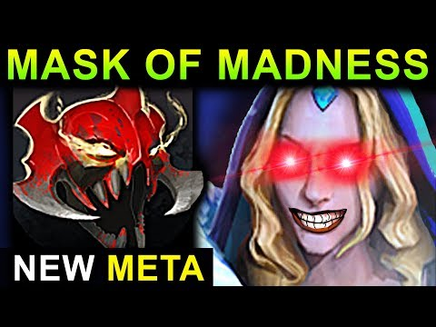MASK OF MADNESS CRYSTAL MAIDEN DOTA 2 PATCH 7.07 NEW META PRO GAMEPLAY