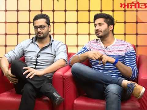 Roshan Prince & Jassi Gill On Ajit Web Tv For Their New Movie Release Mundeyan Ton Bachke Rahin video
