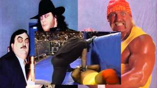 The Undertaker vs Hulk Hogan - this tuesday in texas 1991 (original quality)