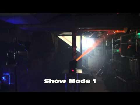 Moving Head Tech -ADJ  Show Modes