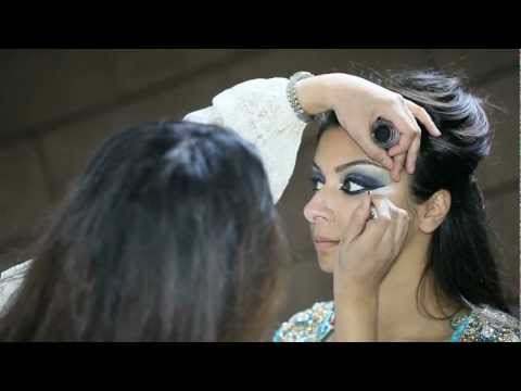 Asian Bridal makeup By Mus- Arabic inspired