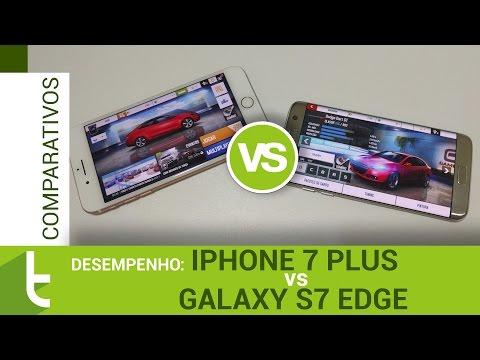 Teste de desempenho Galaxy S7 Edge vs iPhone 7 Plus   TudoCelular