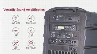 Mipro MA-808 Portable Wireless PA System