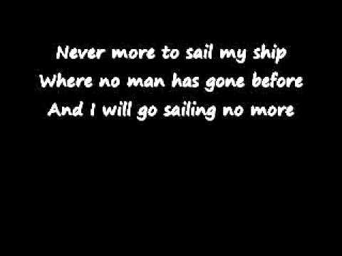 Randy Newman I will go sailing, no more lyrics