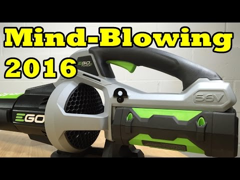 NEW 2016 EGO 530CFM BLOWER LB5302- INTRODUCING THE LEAF BLOWER KING!