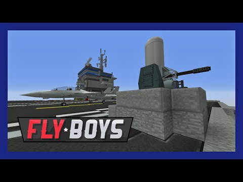 Flyboys Modded Minecraft 26 :: Turrets