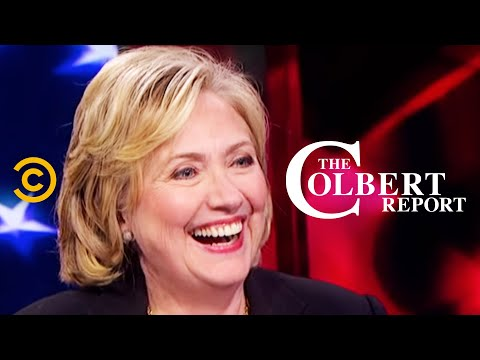 "The Colbert Report: ""Hard Choices"" - Hillary Clinton"