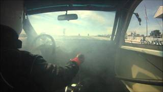 Drag Civic 5.94@129, 38psi 1/8 mile drag race turbo