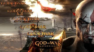 God of War Series - All Weapons and Powers