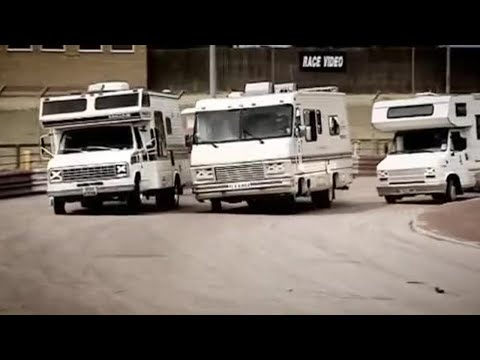 Extreme motorhome racing - Top Gear - BBC