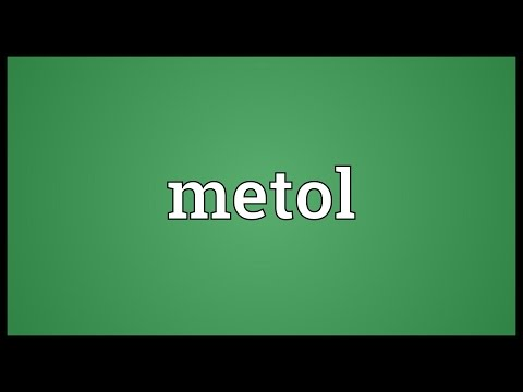 Header of metol