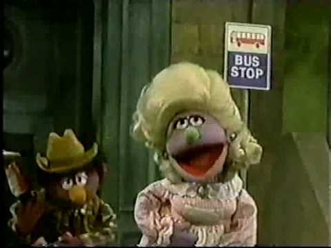 Sesame Street - Waitin' at the Bus Stop Sign for You Video