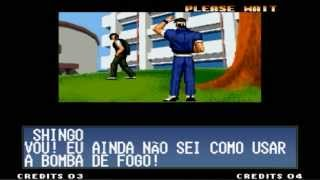 The King Of Fighters 97 - Final Secreto - Kyo,Shingo e Robert - Kyo & Shingo Team - (PT-BR)