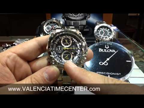 Bulova Precisionist Chronograph watch review by Valencia Time Center