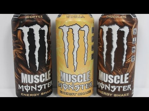 MONSTER ENERGY MUSCLE PROTEIN DRINK REVIEW and ADDICTION