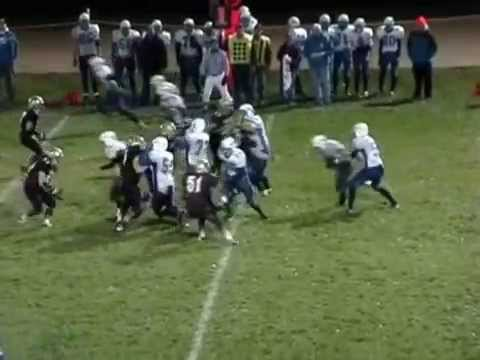 De Soto, WI Football Highlights 2009 Part 2