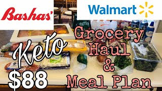 Keto Grocery Haul & Meal Plan| 3/2/20