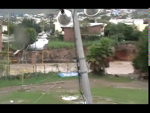 Huracán Alex en Monterrey - daños en Rincón de la Primavera