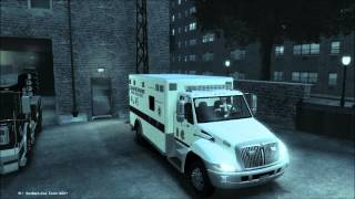 [GTA IV] Chicago Fire Department - Ambulance 45 (Collector's Item)
